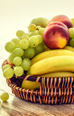 BASKET OF FRESH FRUIT