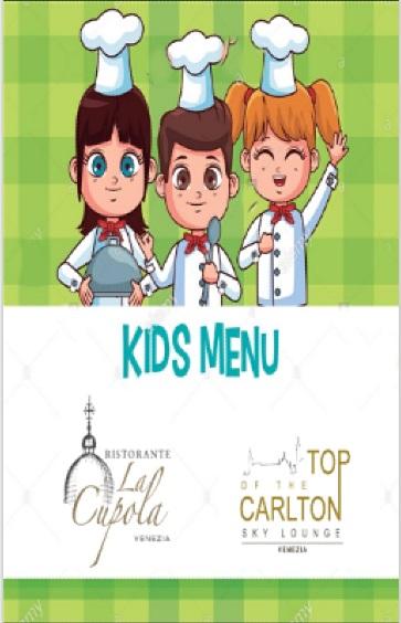 Menu Enfants