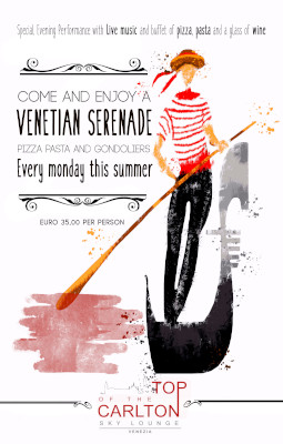VENETIAN SERENADE…. Pizza, Pasta and Gondoliers